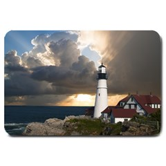 Lighthouse Beacon Light House Large Doormat