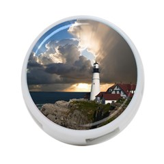 Lighthouse Beacon Light House 4 Port Usb Hub (two Sides)  by Nexatart