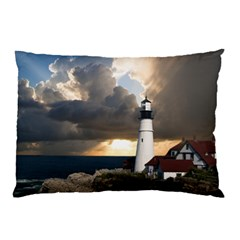 Lighthouse Beacon Light House Pillow Case (two Sides)
