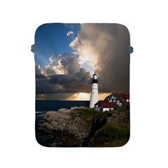 Lighthouse Beacon Light House Apple Ipad 2/3/4 Protective Soft Cases by Nexatart