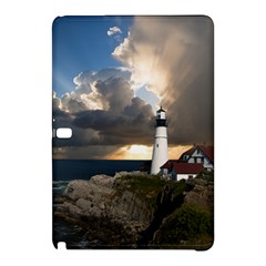 Lighthouse Beacon Light House Samsung Galaxy Tab Pro 12 2 Hardshell Case by Nexatart