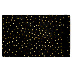 Grunge Pattern Black Triangles Apple Ipad 3/4 Flip Case by Nexatart