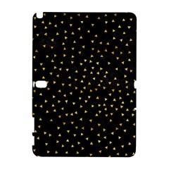 Grunge Pattern Black Triangles Galaxy Note 1