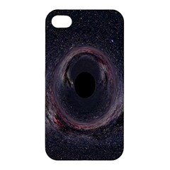 Black Hole Blue Space Galaxy Star Apple Iphone 4/4s Hardshell Case by Mariart