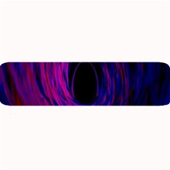 Black Hole Rainbow Blue Purple Large Bar Mats