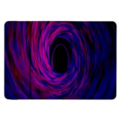 Black Hole Rainbow Blue Purple Samsung Galaxy Tab 8 9  P7300 Flip Case by Mariart