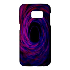 Black Hole Rainbow Blue Purple Samsung Galaxy S7 Hardshell Case  by Mariart
