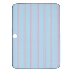 Bleu Pink Line Vertical Samsung Galaxy Tab 3 (10 1 ) P5200 Hardshell Case  by Mariart