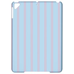 Bleu Pink Line Vertical Apple Ipad Pro 9 7   Hardshell Case by Mariart