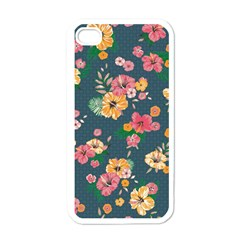 Aloha Hawaii Flower Floral Sexy Apple Iphone 4 Case (white)
