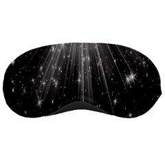 Black Rays Light Stars Space Sleeping Masks by Mariart