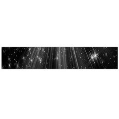 Black Rays Light Stars Space Flano Scarf (large) by Mariart