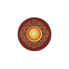 Badge Gilding Sun Red Oriental Golf Ball Marker (4 Pack)