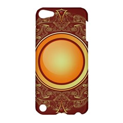 Badge Gilding Sun Red Oriental Apple Ipod Touch 5 Hardshell Case by Nexatart