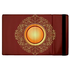Badge Gilding Sun Red Oriental Apple Ipad 3/4 Flip Case by Nexatart