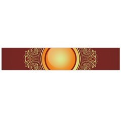 Badge Gilding Sun Red Oriental Flano Scarf (large) by Nexatart