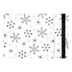 Black Holiday Snowflakes Apple Ipad Pro 10 5   Flip Case by Mariart