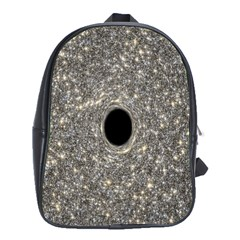 Black Hole Blue Space Galaxy Star Light School Bag (xl) by Mariart