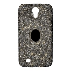 Black Hole Blue Space Galaxy Star Light Samsung Galaxy Mega 6 3  I9200 Hardshell Case by Mariart