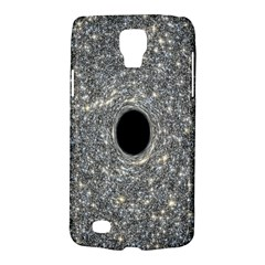 Black Hole Blue Space Galaxy Star Light Galaxy S4 Active by Mariart