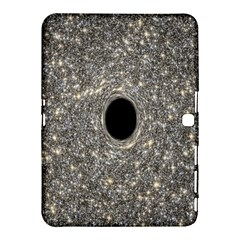 Black Hole Blue Space Galaxy Star Light Samsung Galaxy Tab 4 (10 1 ) Hardshell Case  by Mariart
