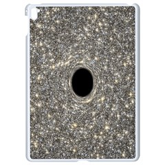 Black Hole Blue Space Galaxy Star Light Apple Ipad Pro 9 7   White Seamless Case by Mariart