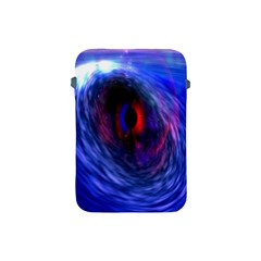 Blue Red Eye Space Hole Galaxy Apple Ipad Mini Protective Soft Cases by Mariart