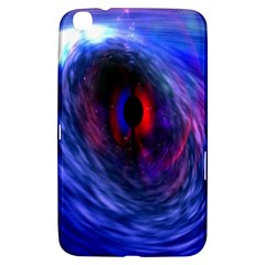 Blue Red Eye Space Hole Galaxy Samsung Galaxy Tab 3 (8 ) T3100 Hardshell Case  by Mariart