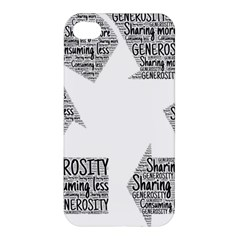 Recycling Generosity Consumption Apple Iphone 4/4s Premium Hardshell Case
