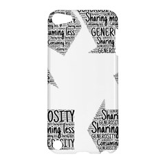 Recycling Generosity Consumption Apple Ipod Touch 5 Hardshell Case