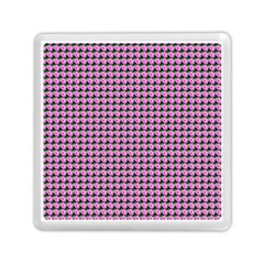 Pattern Grid Background Memory Card Reader (square)