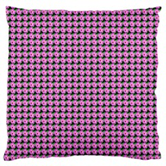 Pattern Grid Background Large Cushion Case (two Sides) by Nexatart
