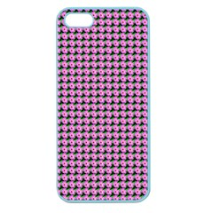 Pattern Grid Background Apple Seamless Iphone 5 Case (color)