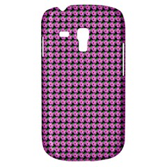 Pattern Grid Background Galaxy S3 Mini by Nexatart