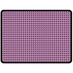 Pattern Grid Background Double Sided Fleece Blanket (large)  by Nexatart