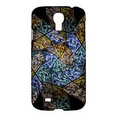 Multi Color Tile Twirl Octagon Samsung Galaxy S4 I9500/i9505 Hardshell Case by Nexatart