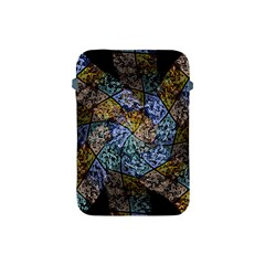 Multi Color Tile Twirl Octagon Apple Ipad Mini Protective Soft Cases by Nexatart
