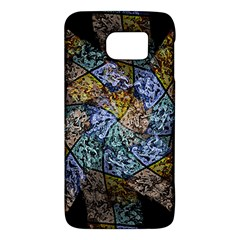 Multi Color Tile Twirl Octagon Galaxy S6 by Nexatart
