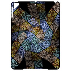 Multi Color Tile Twirl Octagon Apple Ipad Pro 9 7   Hardshell Case by Nexatart