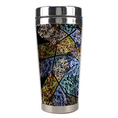 Multi Color Tile Twirl Octagon Stainless Steel Travel Tumblers by Nexatart
