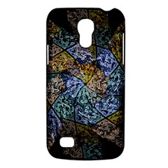 Multi Color Tile Twirl Octagon Galaxy S4 Mini by Nexatart