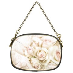 Pastel Roses Antique Vintage Chain Purses (one Side)  by Nexatart