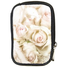 Pastel Roses Antique Vintage Compact Camera Cases by Nexatart
