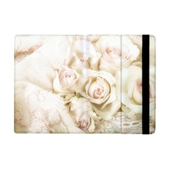 Pastel Roses Antique Vintage Apple Ipad Mini Flip Case by Nexatart