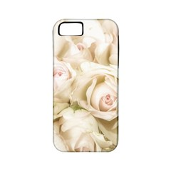 Pastel Roses Antique Vintage Apple Iphone 5 Classic Hardshell Case (pc+silicone) by Nexatart