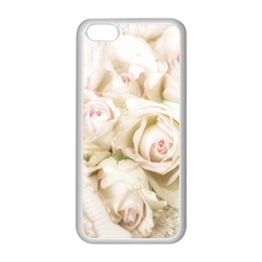 Pastel Roses Antique Vintage Apple Iphone 5c Seamless Case (white) by Nexatart