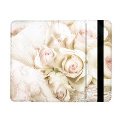 Pastel Roses Antique Vintage Samsung Galaxy Tab Pro 8 4  Flip Case by Nexatart