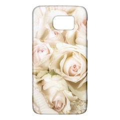 Pastel Roses Antique Vintage Galaxy S6 by Nexatart