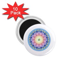 Mandala Universe Energy Om 1 75  Magnets (10 Pack)