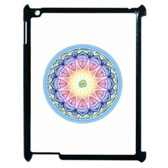 Mandala Universe Energy Om Apple Ipad 2 Case (black) by Nexatart